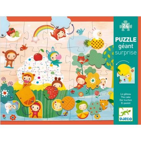 Puzzle Gigante Sorpresa El Pastel