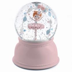 Lámpara Bola de Nieve Bailarina