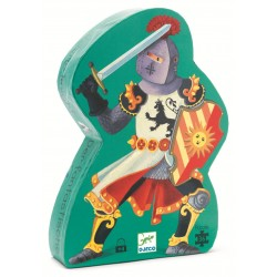Puzzle Silueta El Caballero Fantástico
