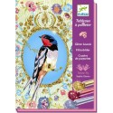 Cuadros Purpurina Pájaros