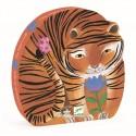 Puzzle Silueta El Paseo del Tigre