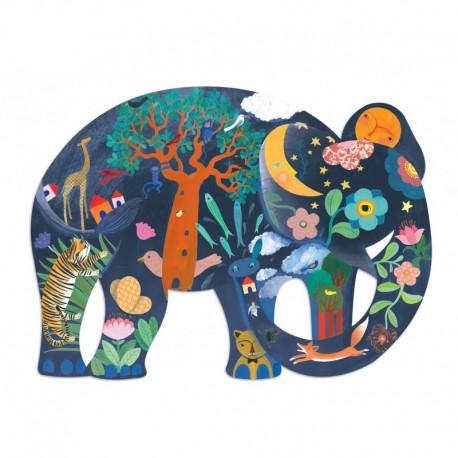 Puzzle Art Elefante