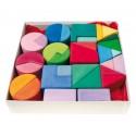 Triangulo Cuadrado Circulo Bloques Color Grimms