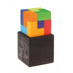Cubo Perfecto Puzzle de Madera Grimms