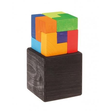 Cubo Perfecto Puzzle de Madera