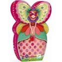 Puzzle Silueta La Señorita Mariposa
