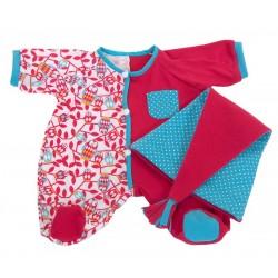 Pijama Rosa Rubens Baby