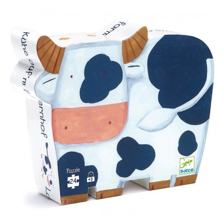 Puzle Silueta Las Vacas