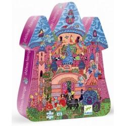 Puzzle Silueta El Castillo De Los Cuentos