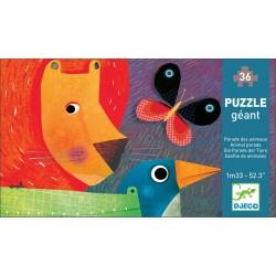 Puzzle Gigante Desfile De Animales