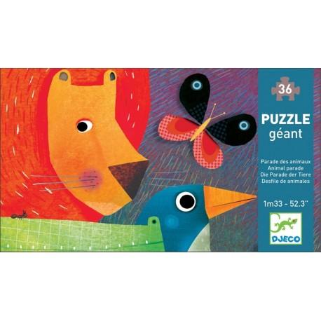 Puzzle Desfile De animales