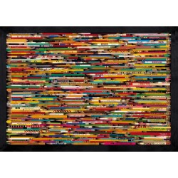 Puzzle Madera Pencil Collage