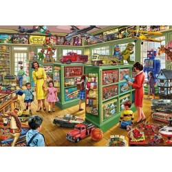 Puzzle Madera Toy Shop