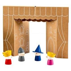 Marionetas de Dedo de Madera