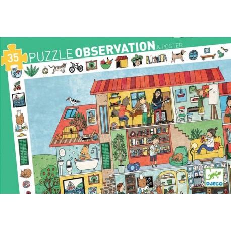 Puzzle Observación La Casa