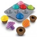 Encajando Formas Cupcakes