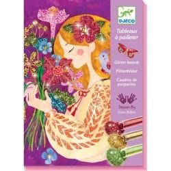 Cuadros Purpurina El Perfume de las Flores