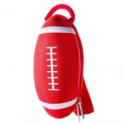 Mochila Pelota de Rugby Roja