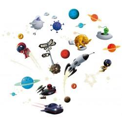 Stickers Astronautas