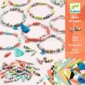 Perlas de Papel Pulseras de Primavera