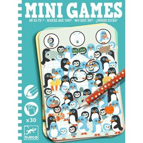 Mini Games ¿Dónde Estás?