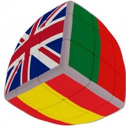 V Cube 3x3 Banderas Eurocopa