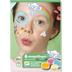 Estuche Maquillaje Arco Iris