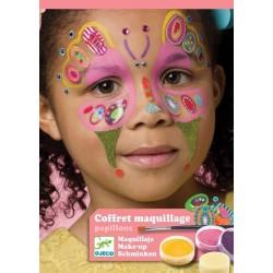Estuche Maquillaje Mariposa
