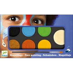 Paleta Maquillaje 6 Colores Natural
