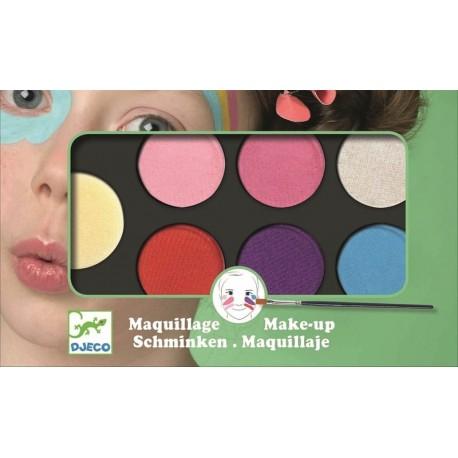 Paleta Maquillaje 6 Colores Dulce