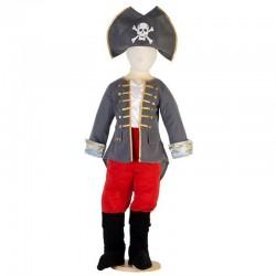 Disfraz Capitan Pirata 6/8 Años