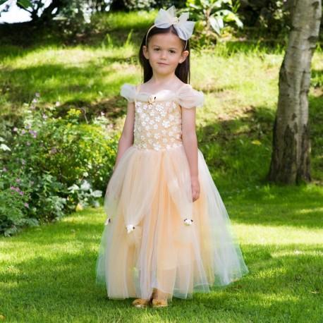 Disfraz Princesa Oro 6/8 Años