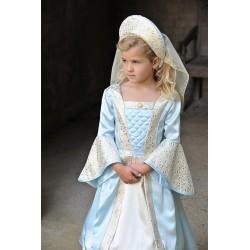 Disfraz Chica Tudor 3/5 Años