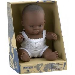 Baby Africano Niño/Niña 21 Cm
