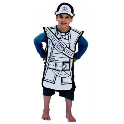 Disfraz Para Pintar Pirata