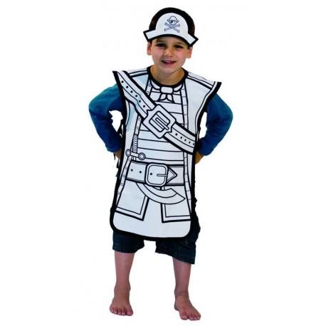 Disfraz Para Pintar de Pirata