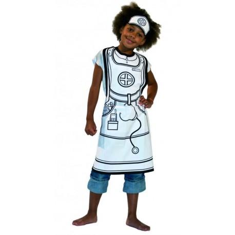 Disfraz Para Pintar de Enfermera