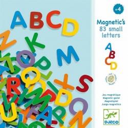 83 Letras Magnéticas Mayúsculas