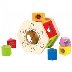 Caja De Formas Hexagono