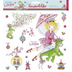 Stickers Ventana Princesa Lillifee