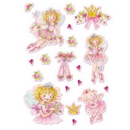 Pegatinas Princesa Lillifee