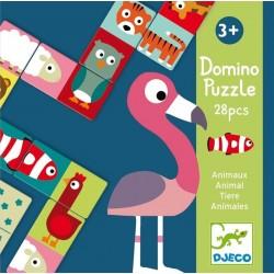 Dominó Puzzle Animales