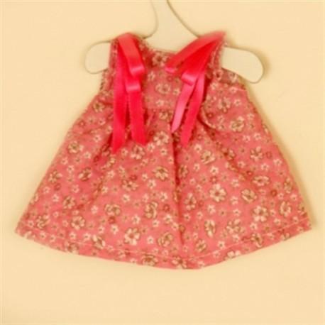 Vestido Flores Fucsia
