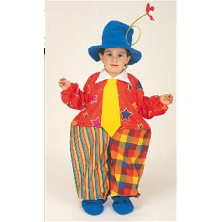 Disfraz Payaso Del Circo 6 años
