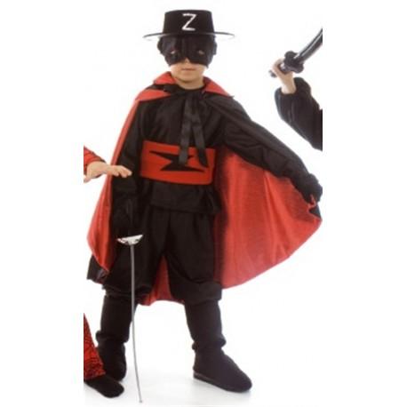 Disfraz de El Zorro 4 Años
