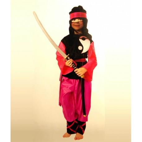 Disfraz Princesa Ninja 6 años