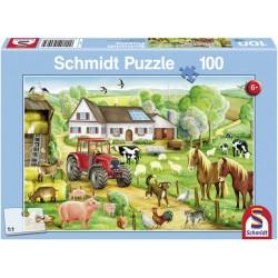 Puzzle Alegría en la Granja