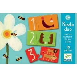 Puzzle Dúo Números