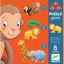 Puzzle Ouistiti y sus Amigos