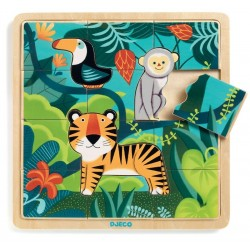 Encajable Puzzlo Jungle